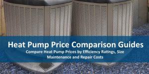 average price of heat pump